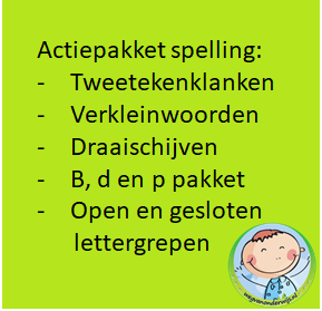 actiepakket spelling